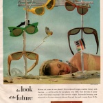 Cosmetan Sun Glasses 1950 - Photo by Ernst Badle