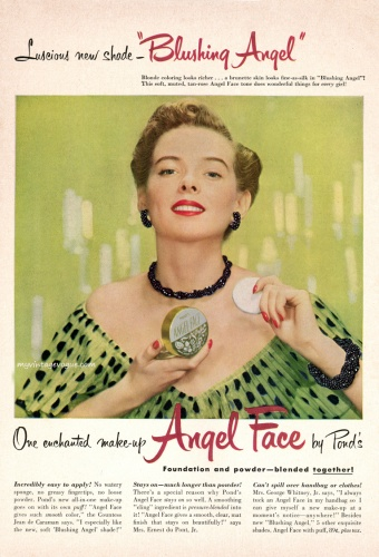 Angel Face by Pond's 1950