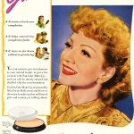Max Factor Hollywood 1944 / Claudette Colbert