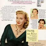 Pan-Stik by Max Factor / Lori Nelson 1952
