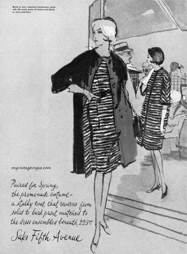 Saks Fifth Ave 1963