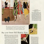 McCallum Silk Hosiery 1925