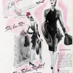 She's Fashion Right! with Contro by Firestone 1944