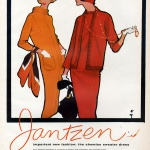 Jantzen 1958, Illustation by Rene Gruau