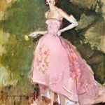 Gown by Ayres 1959