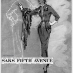 Saks Fifth Avenue 1953 Jo Copeland of Pattullo