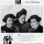 Stetson Millinery 1949