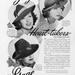 Gage Hats 1940