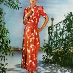 House Coat by Saybury 1946