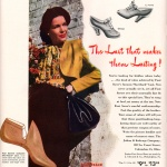 Foot Saver Shoes 1944
