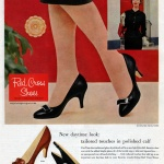 Red Cross Shoes 1957