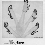 Troylings styled by Seymour Troy - Lown Shoes Inc 1950
