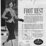 Foot Rest Shoes 1938