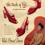 Red Cross Shoes 1950