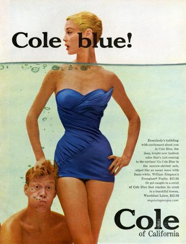 Cole of California 1955 / Jean Patchett