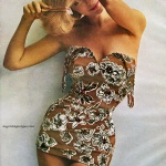 Roxanne Swimsuits 1962