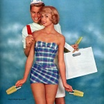 Rose Marie Reid Juniors Swimwear 1959