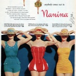 Nanina Swimsuits Co 1954