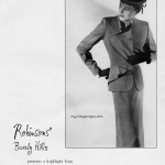 Adrian Spring Collection 1950