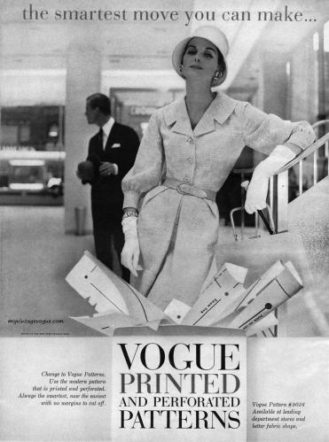 Anne St Marie 1956 / Vogue Patterns 9036