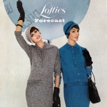 Lofties 1958 - Anne St Marie (L) & Lucinda Hollingsworth (R)