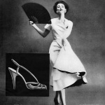 Dorian Leigh / Delman Shoes 1951