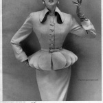 Dorian Leigh wearing Lilli Ann 1952, photo by Richard Avedon