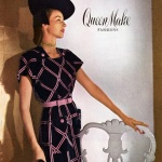 Queen Make Fashions 1946 / Dorian Leigh