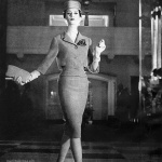 Dovima wearing Paul Parnes designed by Beni Claire 1959 - photo by William Ward
