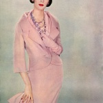 Dovima wearing Dior, photo by Richard Avedon - Ladies home Journal September 1957