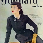 Juilliard - Suit by Ban Zuckerman 1951 / Dovima