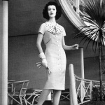 Dovima wearing Paul Parnes designed by Beni Claire 1959 photo by William Ward