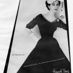 Dovima wearing Hannah Troy 1952