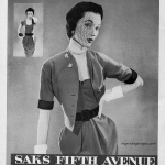 Dovima - Saks Fifth Avenue 1950