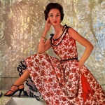 Simplicity Pattern Book Summer 1954 - Evelyn Tripp, photo by Maria Martel