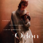 Du Pont Orlon 1956 / Evelyn Tripp