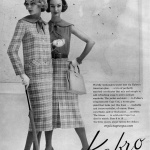 Kabro of Houston 1957 - Jean Patchett (L) & Evelyn Tripp (R)