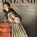Harper's Bazaar November 1953 / Evelyn Tripp