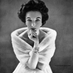 Bergdorf Goodman 1953 - Evelyn Tripp, photo by Richard Avedon