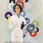 Life Savers Suits by Kirkland Hall 1952 / Jean Patchett