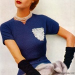 Jean Patchett / Minerva Fashions in Hand Knits 1952