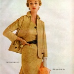Simplicity Pattern Book Spring 1954 - Jean Patchett, photo by Maria Martel