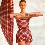 Simplicity Pattern Book Summer 1954 - Jean Patchett, photo by Paul Radkai
