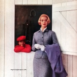 Jean Patchett 1957 Suit by Bardley