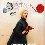 Milium tailored by Country Tweeds 1955 / Jean Patchett