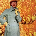 Jean Patchett wearing a coat by Lassie Maid Original 1948