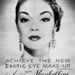 Jean Patchett - Maybelline 1950