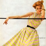 Simplicity Pattern Book Summer 1953 - Jean Patchett, photo by Lillian Bassman
