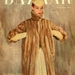Harper's Bazaar November 1954 / Jean Patchett