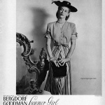 Bergdorf Goodman 1944 / Lisa Fonssagrives